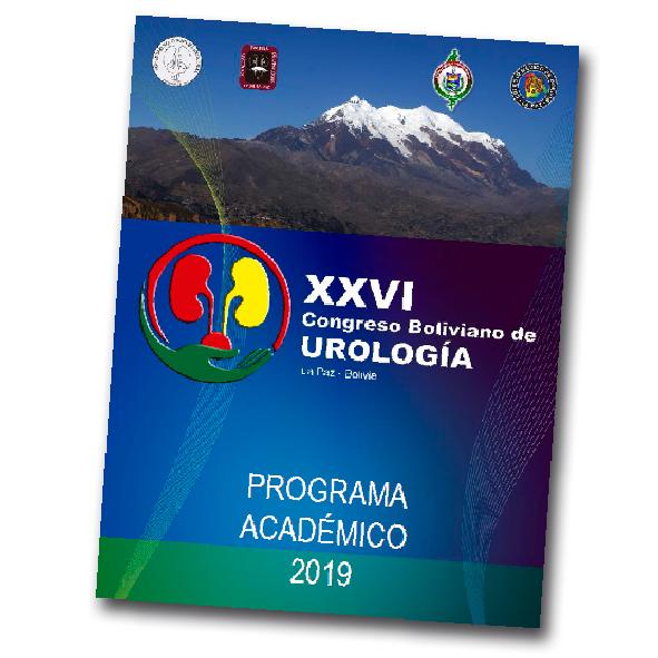 Programa del XXVI Congreso Boliviano de Urología