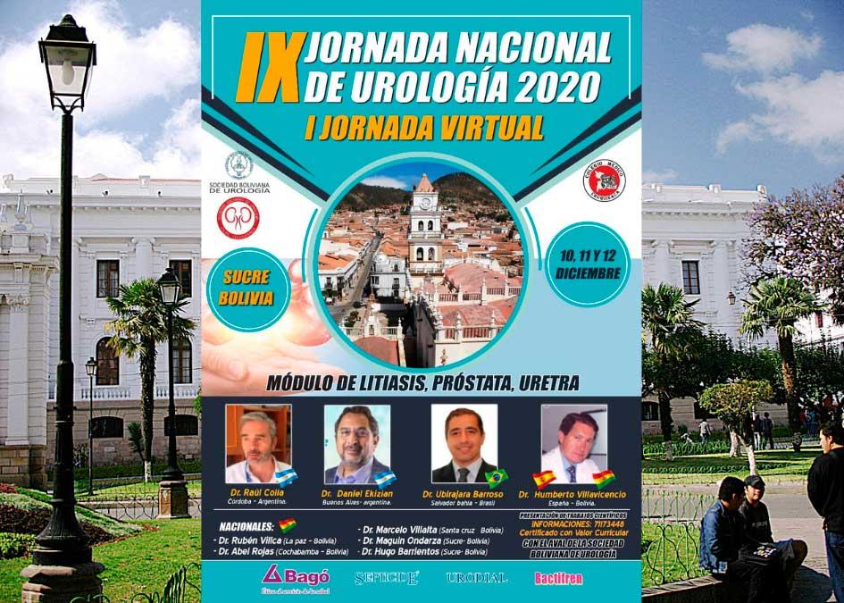IX JORNADA NACIONAL DE UROLOGIA 2020 – JORNADA VIRTUAL